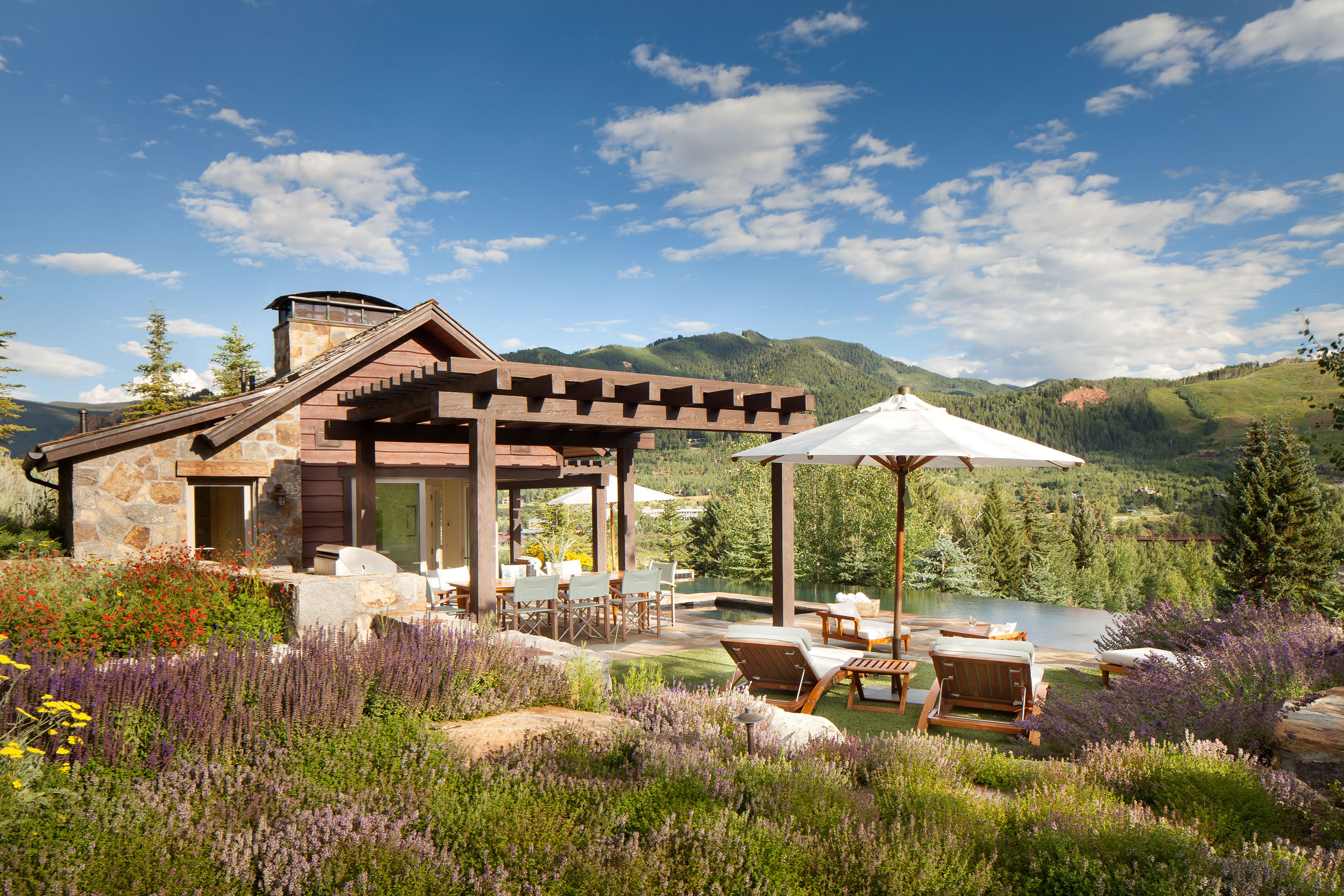 Brewster McLeod Architects Hill Cabana Aspen