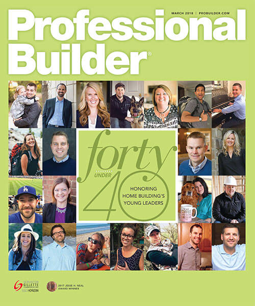 Professional Builder 40 under 40