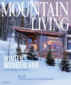 Mountain Living 2019 Top Architect Award