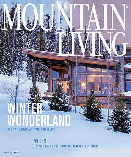 Mountain Living 2019 Top Architect Award
