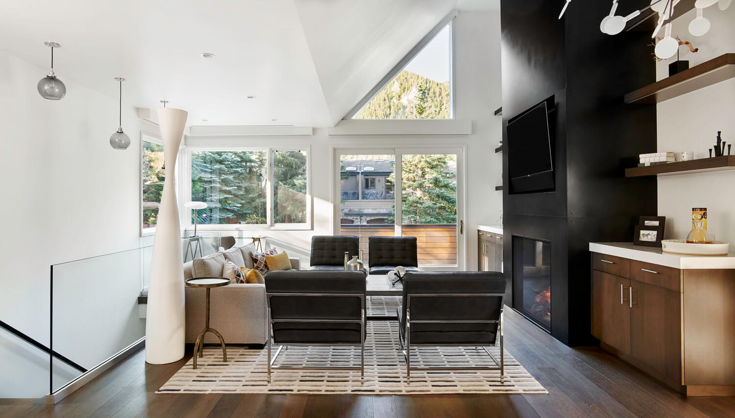 Aspen Duplex designed by Brewster McLeod Architects