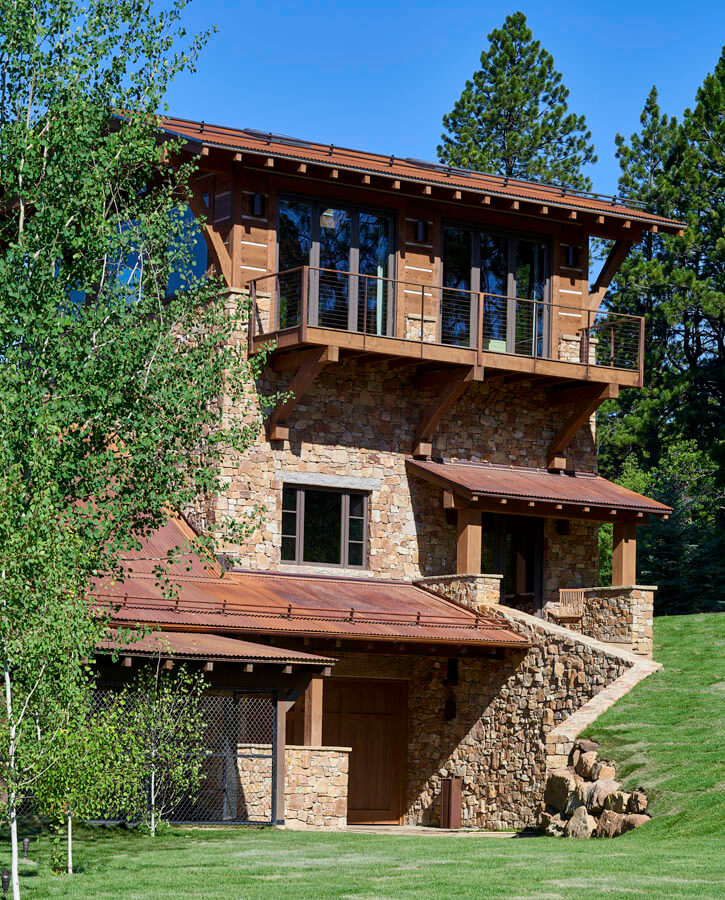 Aspen Smuggler home designed by Brewster McLeod Architects