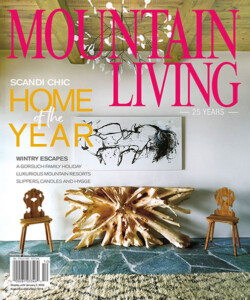 Mountain Living - The Aspen Home is a work of art