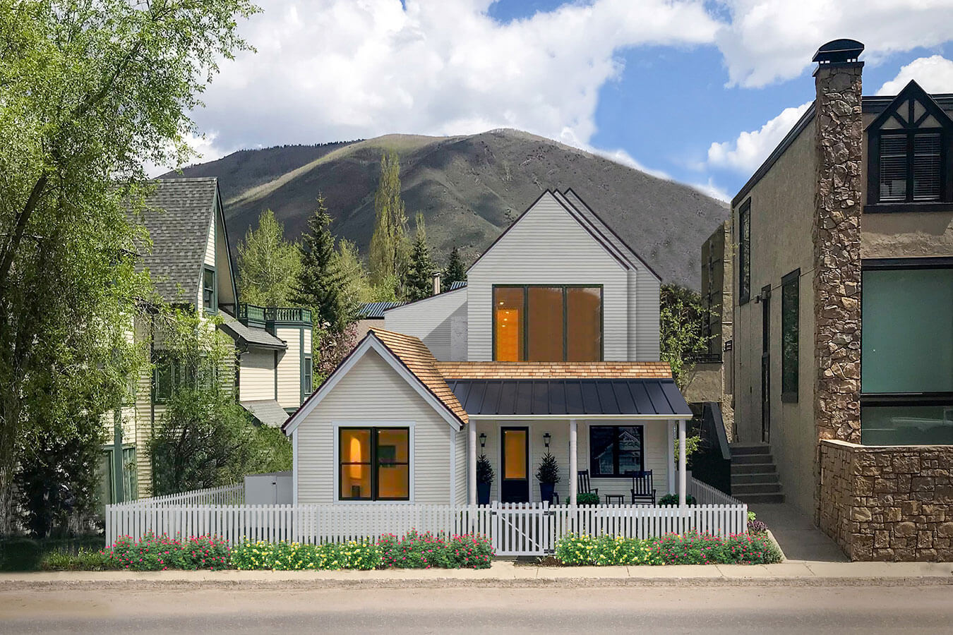 Top Aspen Architect Brewster McLeod Miners Cottage